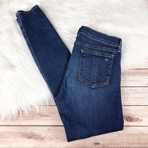 Rag & Bone 9 in. Skinny Jeans